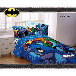 Batman With Justice League Bedding Set