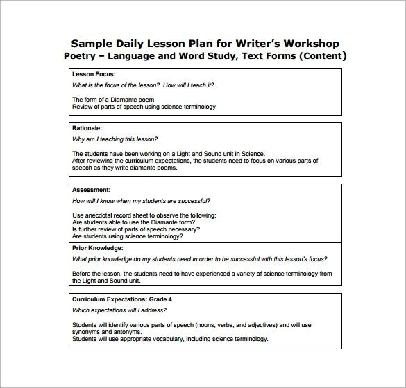 Lesson Plan Format For Cbse Teachers Google Search Daily
