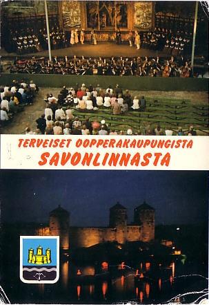 Old Savonlinna post card