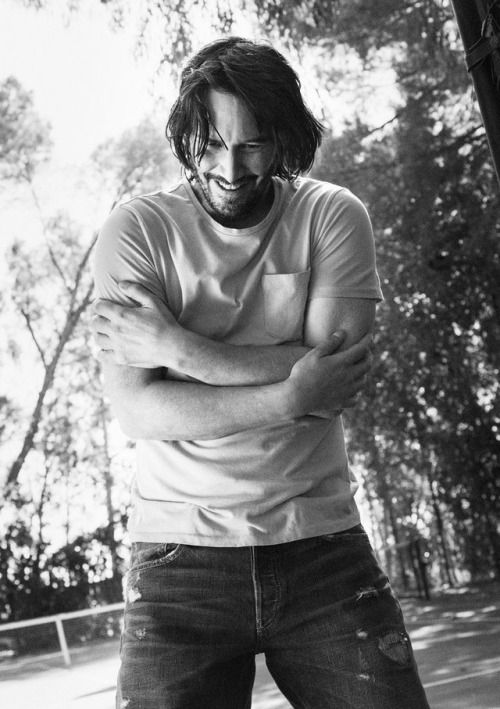 Mr.Keanu Reeves does   he  feeling cold