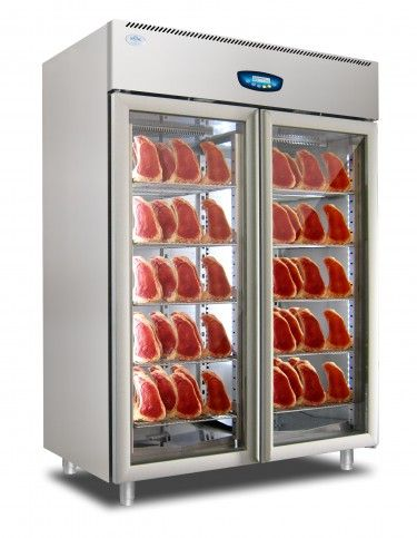 Everlasting Salami And Seasoning Cabinet U2013 Double Glass Door U2013 ST 1502 Glass
