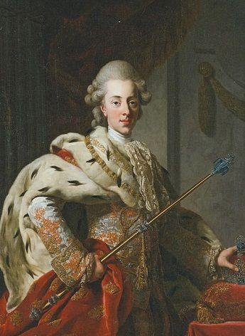Christian VII of Denmark, 1772 (Alexander Roslin) (1718-1793) Det Nationalhistoriske Museum, Frederiksborg Slot, Hillerød