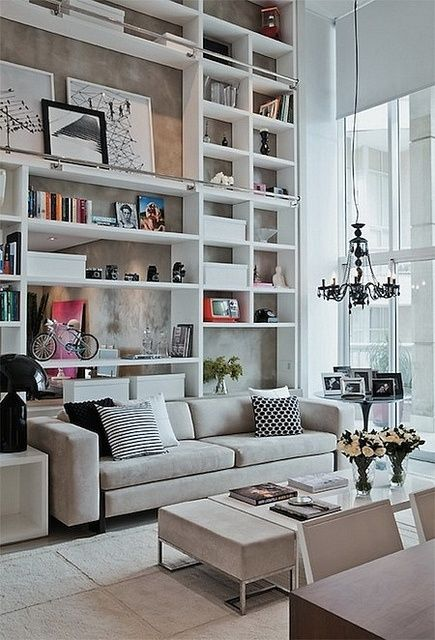JWS Interiors: Organization--All About Bookshelves