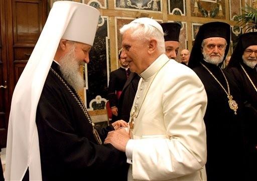 Z patriarchą Cyrylem