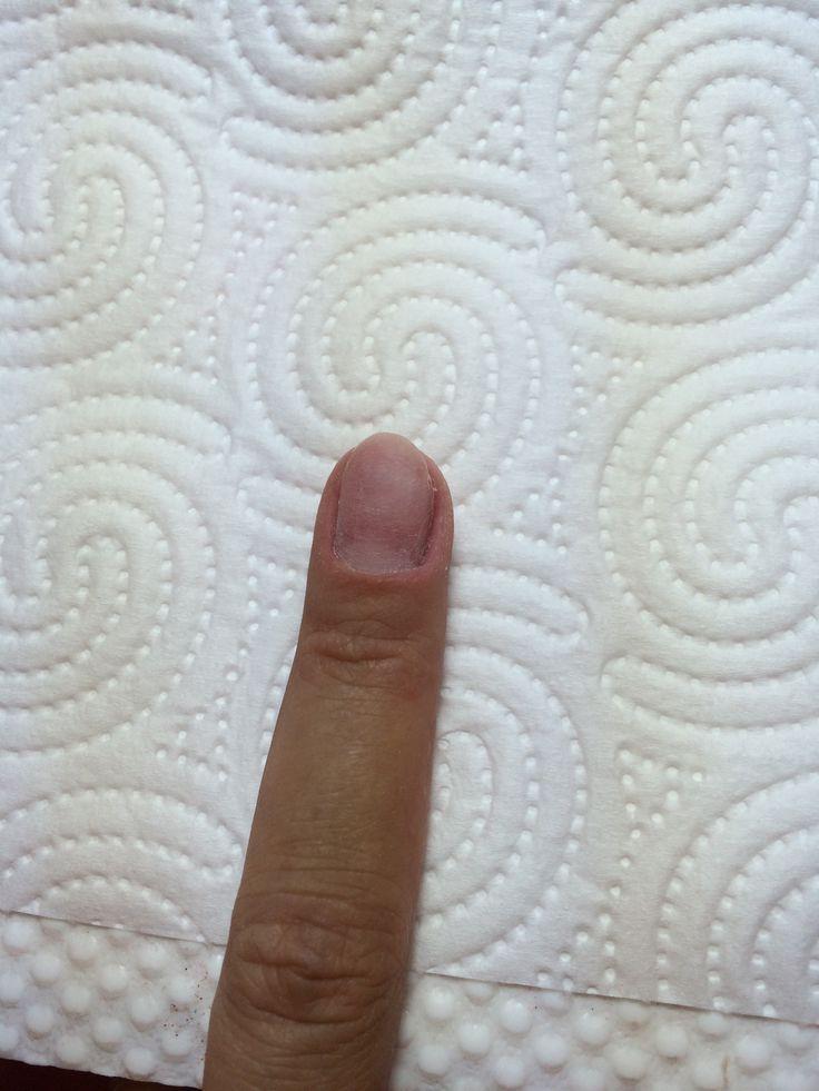 Preparazione dell'unghia naturale