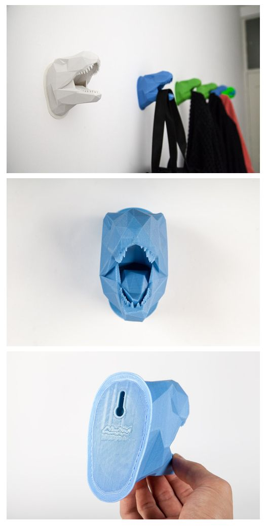 Definitely need to print this!  - Dino Cube hanger 3D print