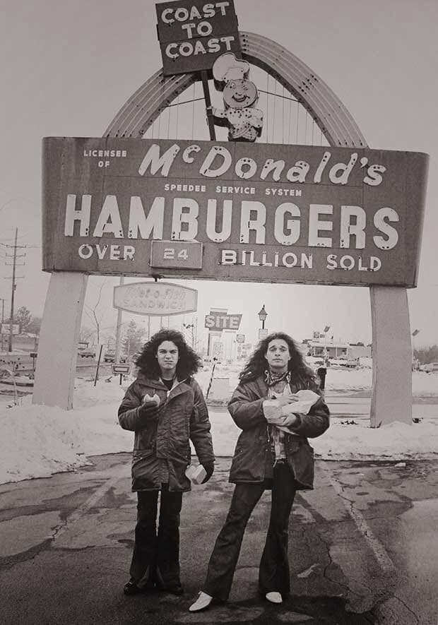 f7b0dd0a51a Eddie Van Halen and David Lee Roth at McDonald s