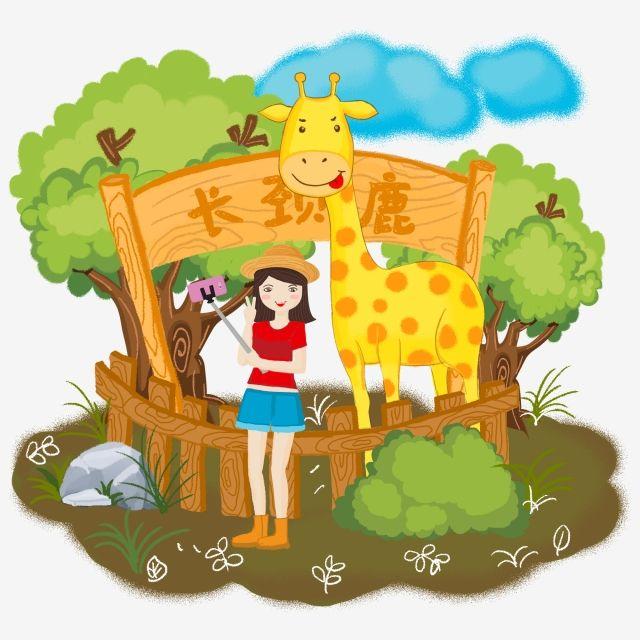 ومن ناحية رسم الكرتون فتاة صغيرة حديقة حيوان تلعب الزرافة المشهد قصاصات فنية حديقة حيوان لعب Png وملف Psd للتحميل مجانا Zelda Characters Cartoon Character