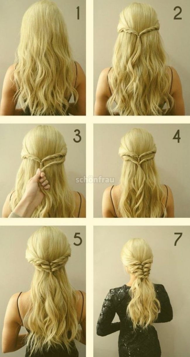 170 Easy Hairstyles Step By Step Diy Hair Styling Can Help You To Stand Apart From The Crowds In 2020 Diy Hairstyles Easy Quick Hairstyles For School Easy Hairstyles