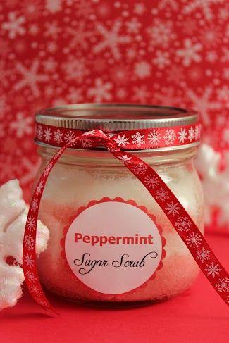 Peppermint Sugar Scrub - Save More Spend Less with Heidi