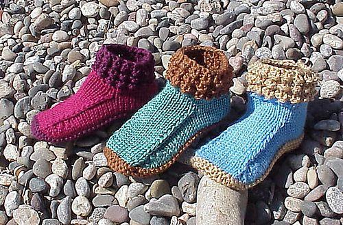 Crocodilly Mocs For Women By Kris Basta - Kriskrafter, LLC - Free Knitted Pattern - (ravelry)