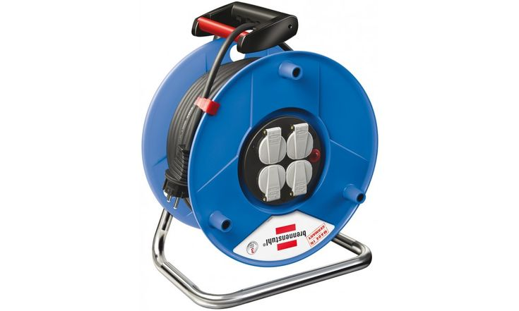 Cable reel 50m 2 pin