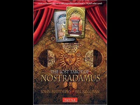 The Lost Tarot of Nostradamus by John Matthews and Wil Kinghan: a card-by-card feature by Tarot Zamm. This pack contains 78 full-color tarot cards as well as...