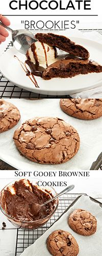 Thermomix recipes for Masterchef Chocolate Brookies Thanks @GourmetGetaway !