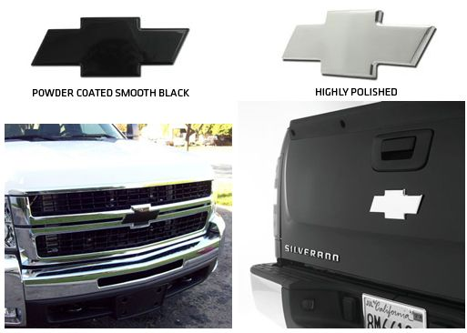 2007 -  2013 Silverado 1500 Full Front and/or Full Rear Bowtie Billet