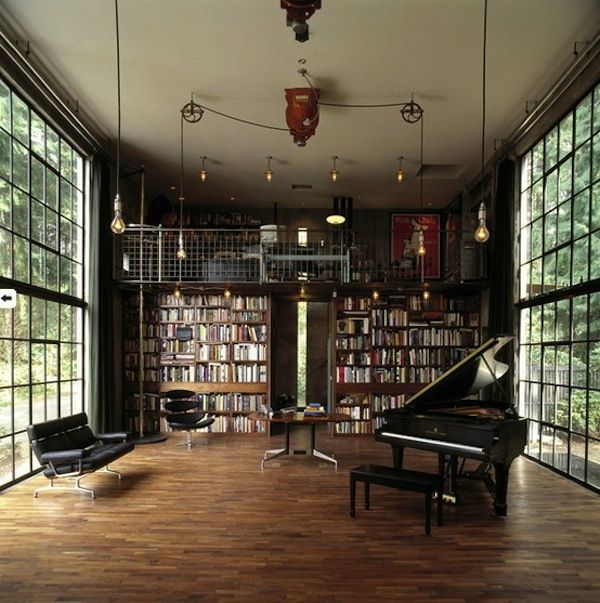 Library/music Room Combo Concept   Like A Bunch Of The Elements Here Part 58