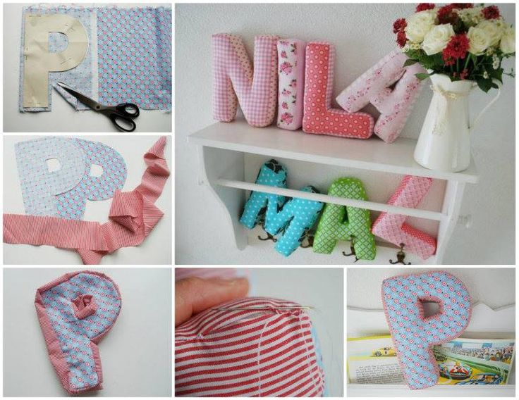 These lovely Letter Pillows will look fantastic in the kids rooms or scattered around the house.