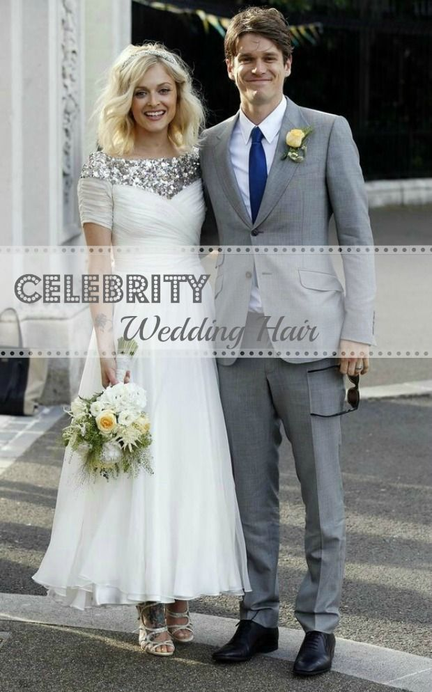 How to! Celebrity Wedding Hair - Ferne Cotton's Wedding Hair see more at http://www.wantthatwedding.co.uk/2014/07/15/celebrity-wedding-hair-inspiration/