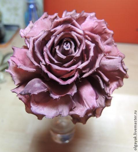 Rose fabric. Simple, but effective. - Fair Masters - handmade, handmade