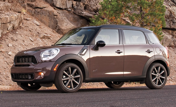 I'm actually really starting to like the Mini Countryman.