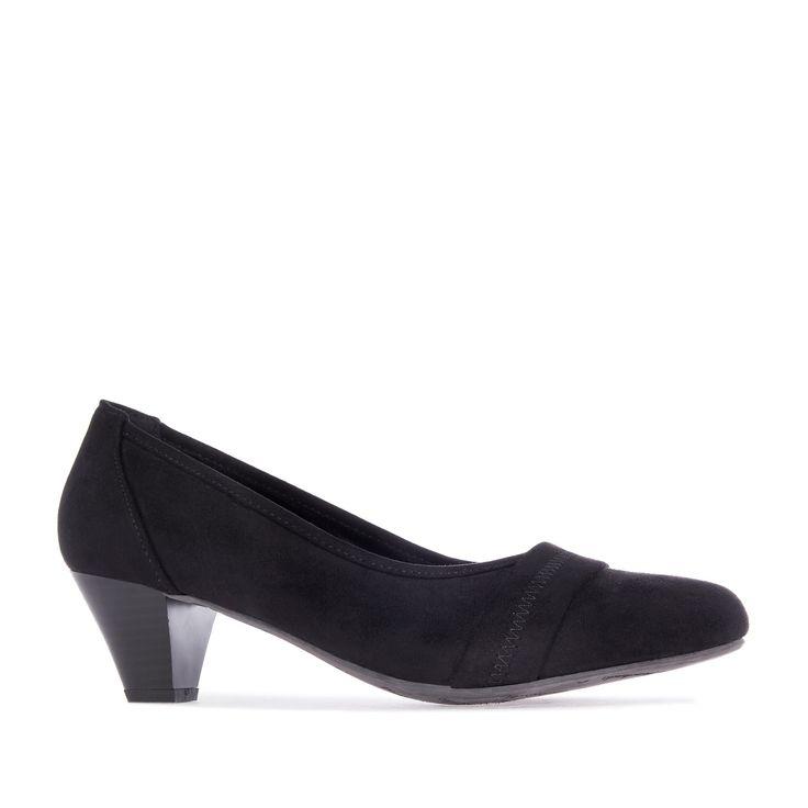 Zapatos Tacon Medio Ancho