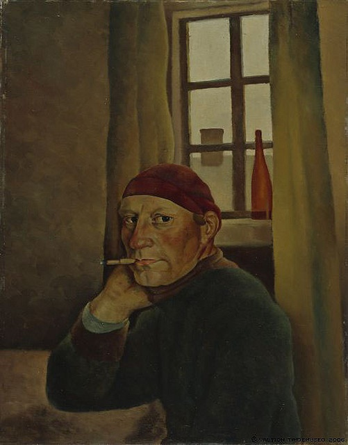 VILHO LAMPI Self-Portrait (1933)