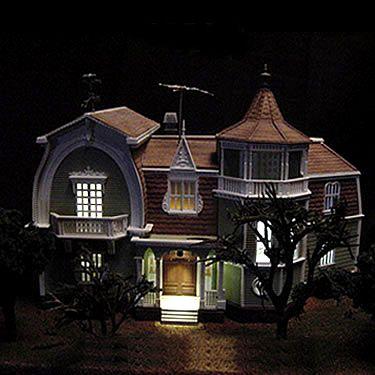 Munsters 1313 Mockingbird Lane House Injected Plastic Model Lighting Kit