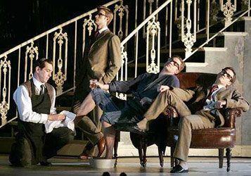 can matthew bourne s be considered a Ballet, this is it — and matthew bourne is just the director to envision it  dance  film of all time — focusing as it does on the backstage energy.