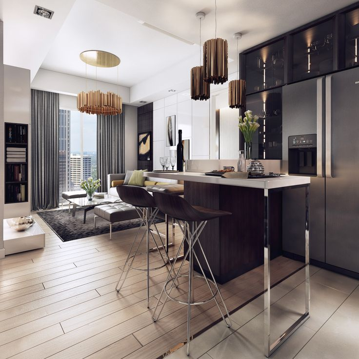I really like the apartments of this type, with the space there is a strong contrast. With a contemporary style, I had very good ideas for it. Hope you like it. Thank you very much.....!!
