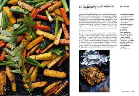 met kerrie geroosterde wortelgroenten met citroenblad en sap bol.com | Plenty more, Yotam Ottolenghi | 9789059565388 | Boeken