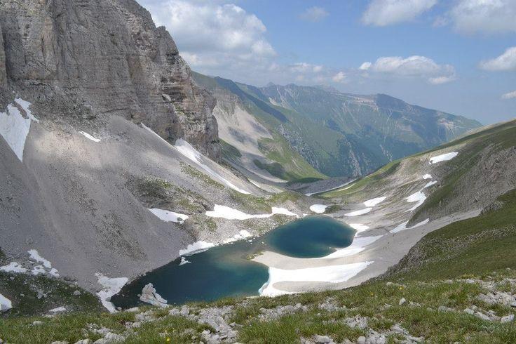 su su su sul Monte Vettore..i laghi di Pilato