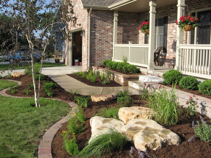 Crown point landscaping landscaping pinterest for Idee terrassement