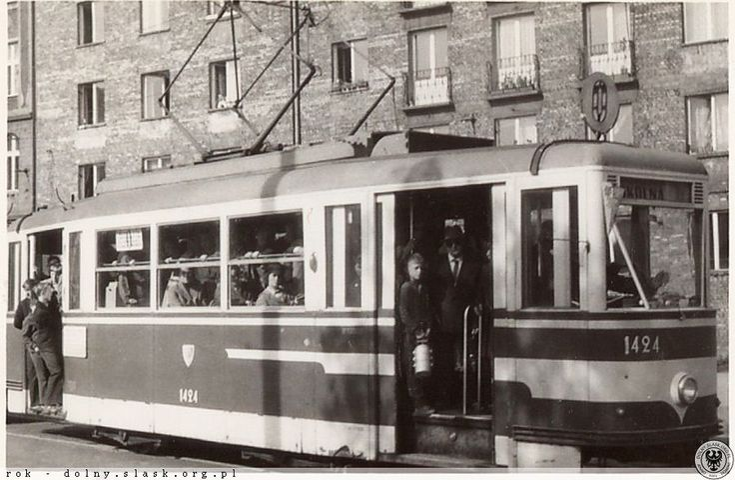 1960 Tramwaj linii 0.