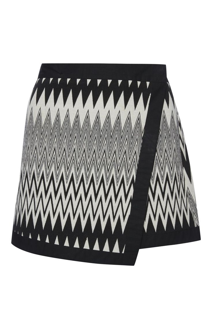 Primark london fashion week day in the life primark womenswear - Black Tapestry Wrap Skirt