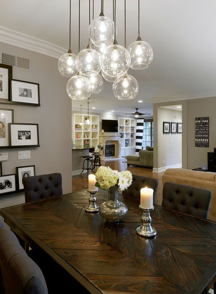 if you want to be a winner change your dining room lighting now rh pinterest com Dining Room Ceiling Mount Lights 5' Long Dining Room Lighting Fixtures Ideas