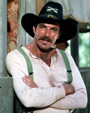 Tom Selleck in The Sacketts...