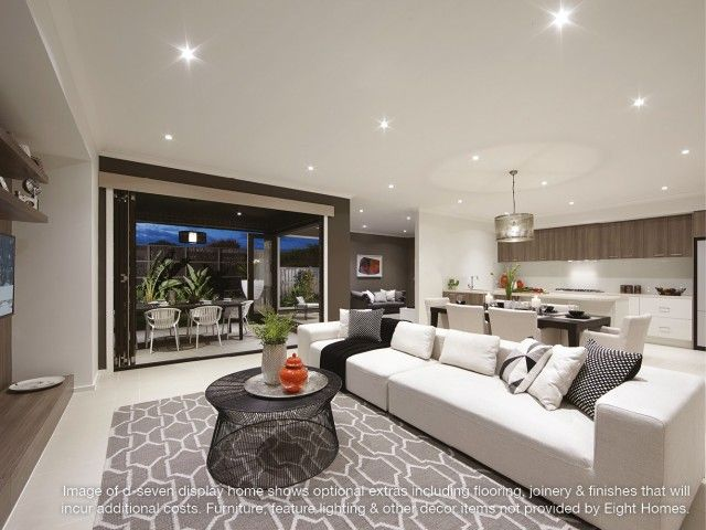 Family Room d seven   Eight Homes display home  Point Cook  affordable  builder Melbourne. 8 best Living Spaces images on Pinterest   Living spaces  Cook and