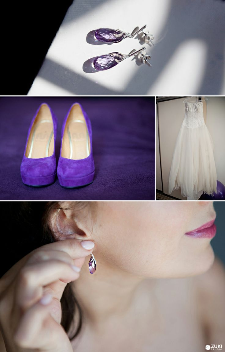 Purple Wedding Details | ZukiStudio Portfolio