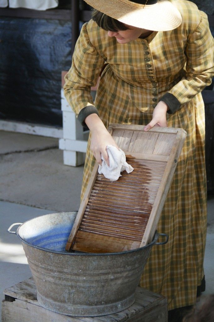 Washing at Caboolture Historical Village