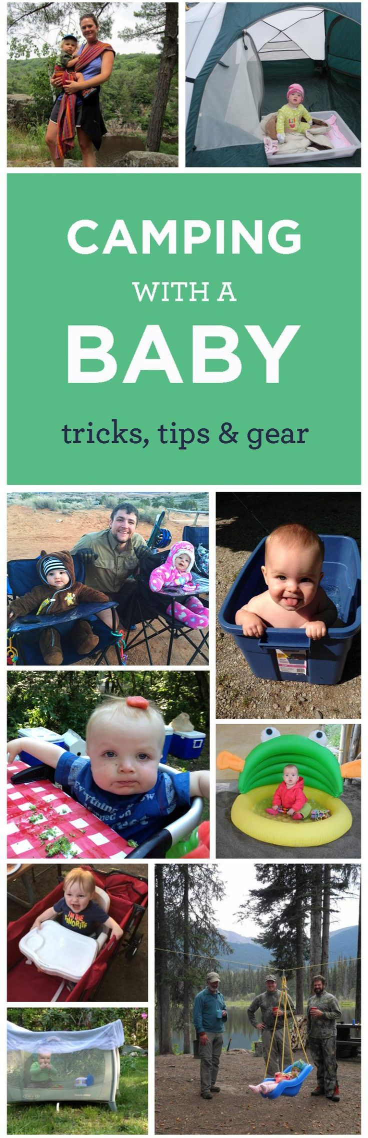 We cover general packing lists and camping tips when bringing a baby or toddler with you when enjoying the great outdoors.