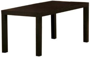 Dorel Home Products Parsons Coffee Table Espresso By Dhp 29 00 Easy To Assemble