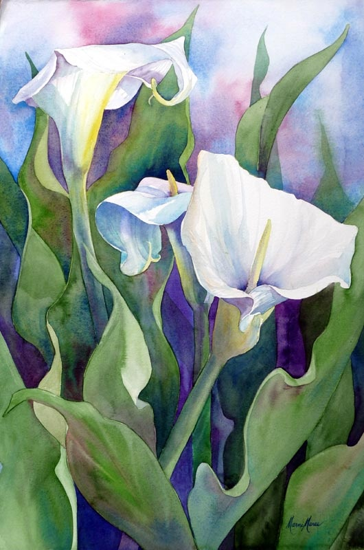 Marni Maree - love her paintings - especially my iris painting, hanging in my living room!