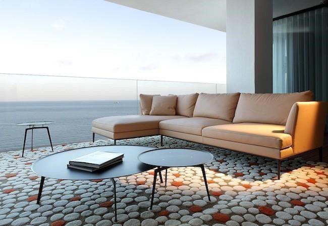 Sala de Hotel en Cancún muebles Minimalistas #Decoración #Cancun #SundecDecoración