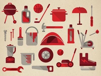 Store goods by Studio Muti #icon #design.