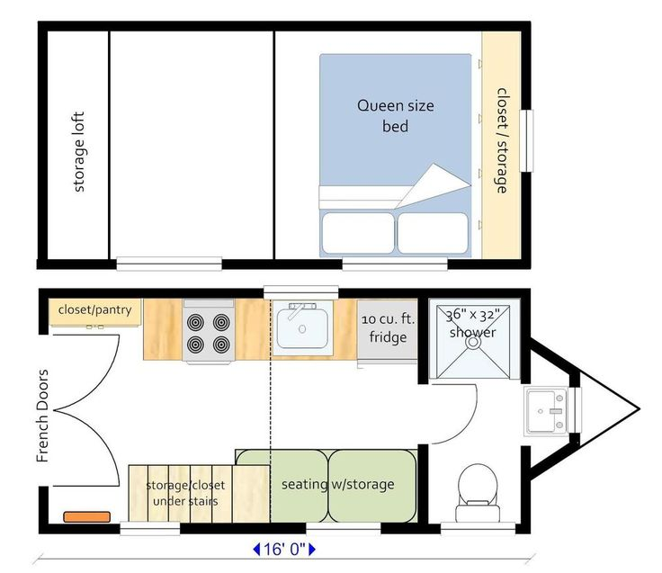 11 best Tiny House Plans images on Pinterest Small house plans