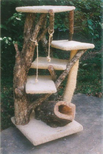 Furwood Forest Cat Trees ! #pettree - See more stunning Cat Trees at - Catsincare.com!