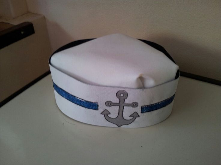 paper sailor hat Sailor hats are fun costume pieces that can be made with a large rectangle sheet of butcher paper or with newspaper add nautical insignia cut from coloured paper to.
