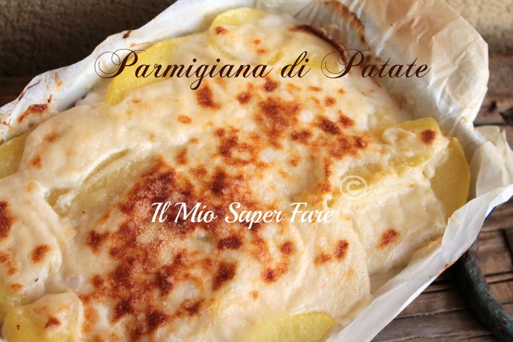 Parmigiana di Patate ricetta blog il mio saper fare