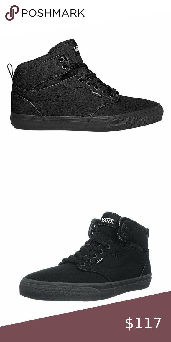 Vans Atwood Hi Men's Triple Black Size 9.5 US NWOB | New shoes ...