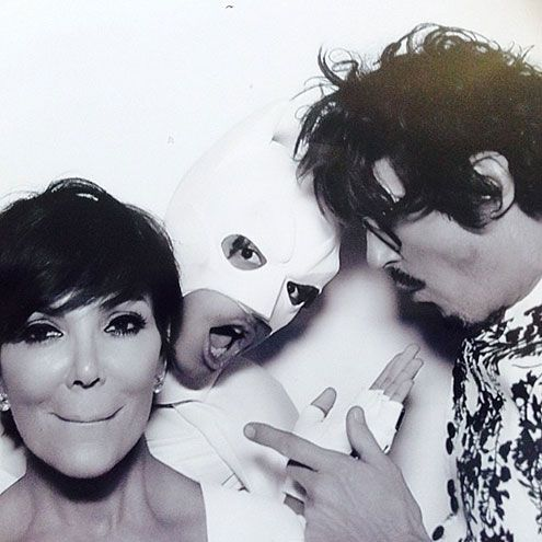 Kim Kardashian & Kanye West's Wedding Photo Booth Fun | WEDDING CRASHER | It's another photobomb by Batman (a.k.a. Smith), who makes an  LOL-worthy appearance in the photo booth – this time with the mother of the bride and celeb hairstylist Clyde Haygood.